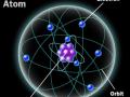 Электроны вращаются по орбитам вокруг ядра атома