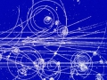 Кванты поля -- элементарные частицы оставляют след из пузырьков