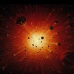 Кварки и антикварки Большого Взрыва