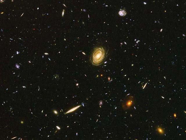 Тёмная энергия повсюду во Вселенной