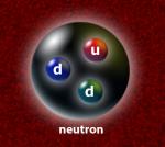Три кварка связаны в нейтрон