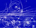Кванты поля -- элементарные частицы оставляют в детекторах след из пузырьков