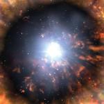 Нейтрино от вспышки сверхновой звезды