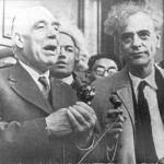 Бор и Ландау обсуждают важность воображения для развития физики